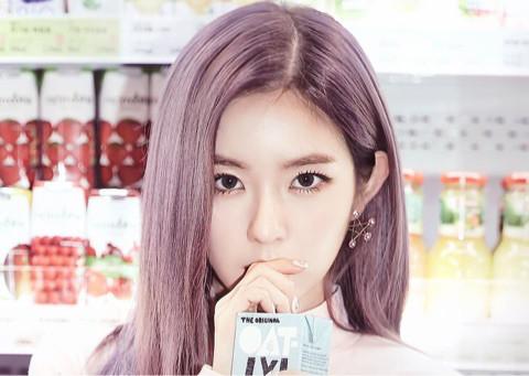 Red Velvetアイリーンの髪色が紫でカワイイ!ヘアカラーを真似