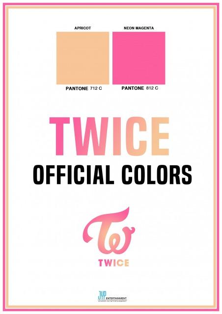 カラー twice メンバー